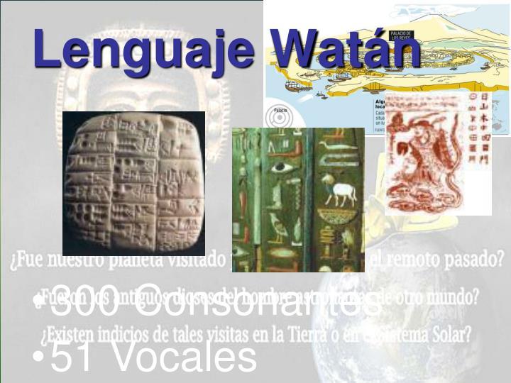 Lenguaje Watán