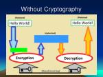 without cryptography3