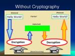 without cryptography31