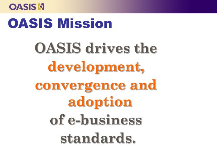 OASIS Mission