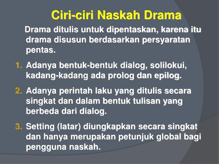 Ppt Unit 33 Menulis Naskah Drama Berdasarkan Cerpen Yang Sudah