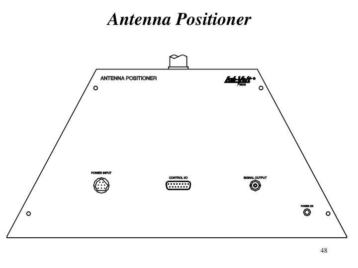 Antenna Positioner