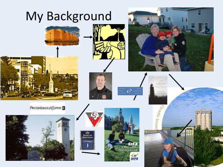 My Background