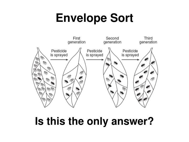 Envelope Sort