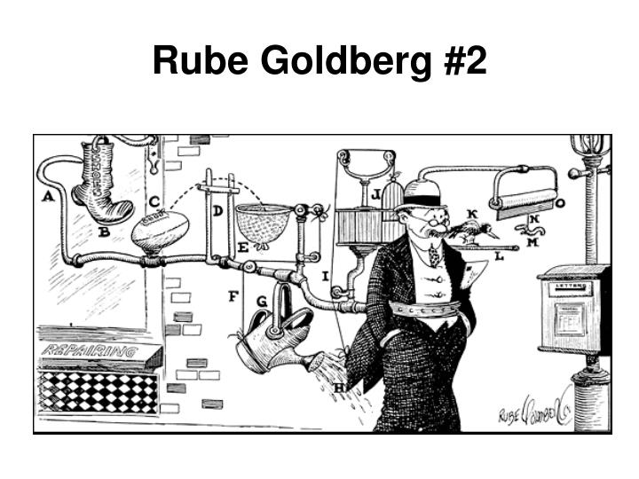 Rube Goldberg #2