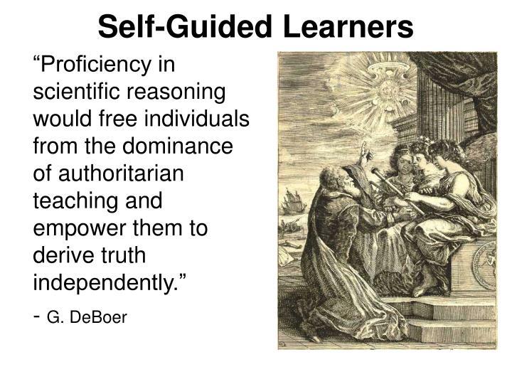 Self guided learners