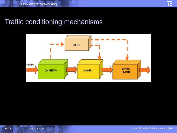 Traffic conditioning mechanisms