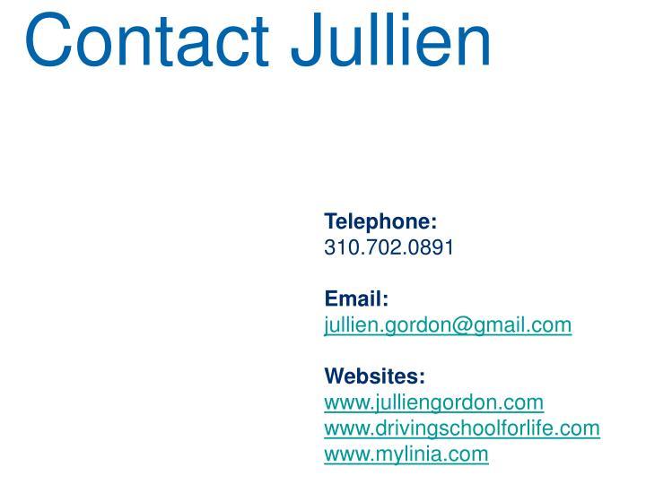 Contact Jullien