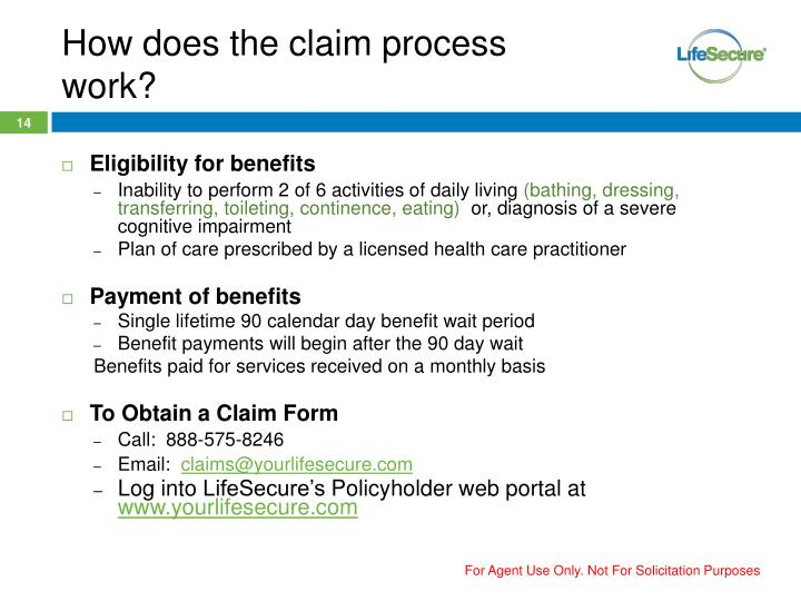 How does the claim process