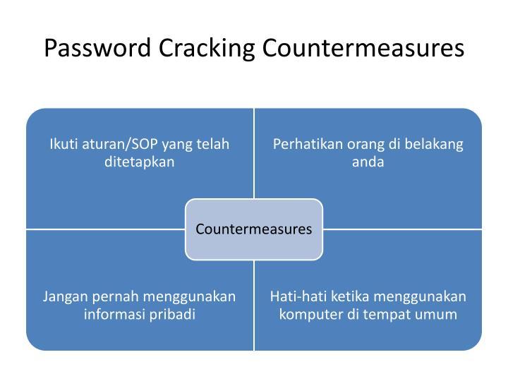 Password Cracking Countermeasures