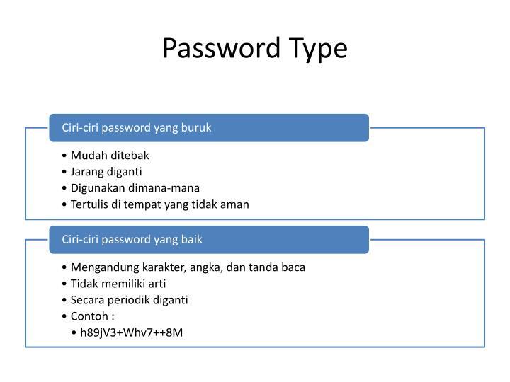 Password Type
