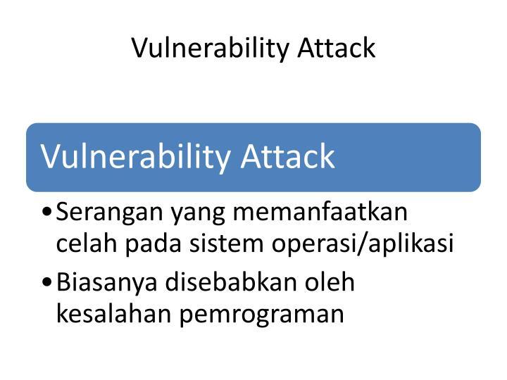 Vulnerability Attack