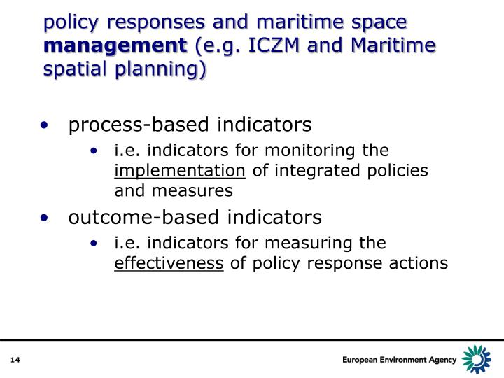 policy responses and maritime space