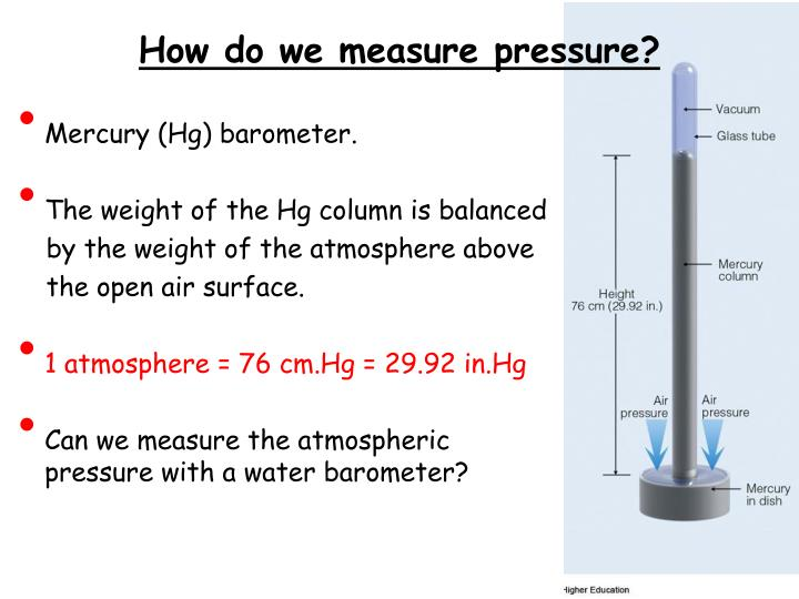 How do we measure pressure?