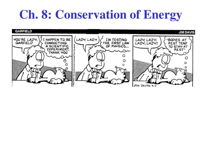 ch 8 conservation of energy n.