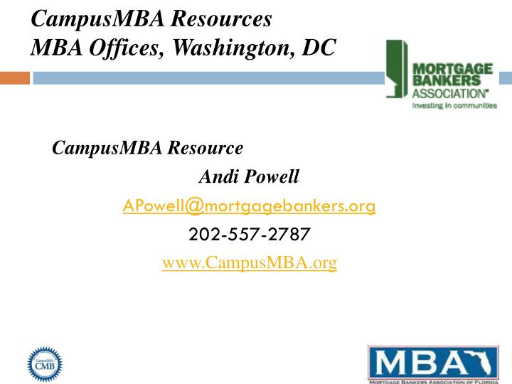 CampusMBA Resources