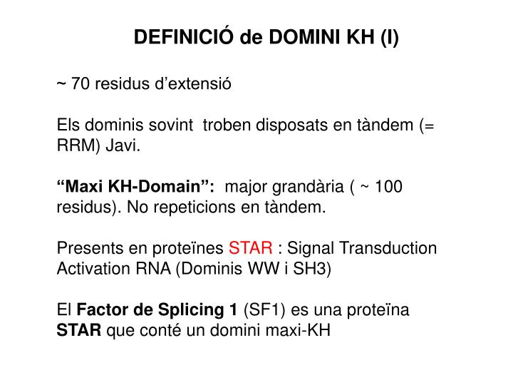 DOMINIS KH