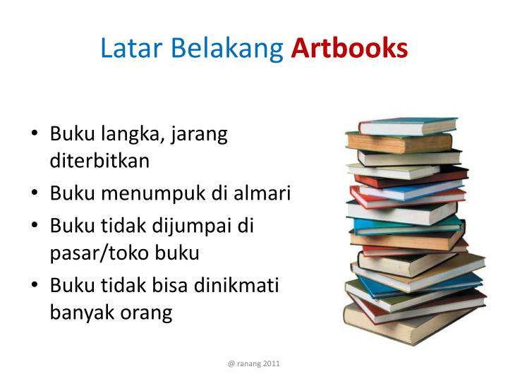 Latar belakang artbooks