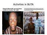 activities in buta4