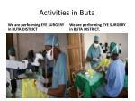 activities in buta6