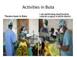 activities in buta7