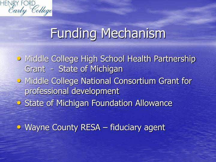 Funding Mechanism