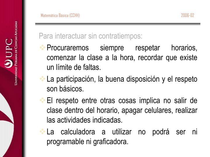 Matemática Básica (CCHH)                                                                                                               2006-02