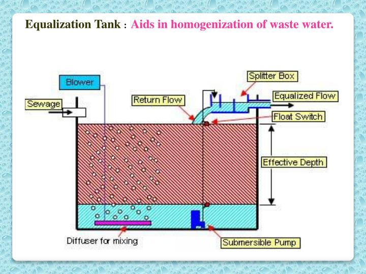 Equalization Tank