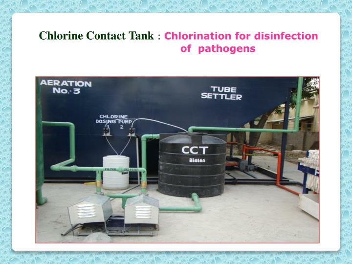 Chlorine Contact Tank