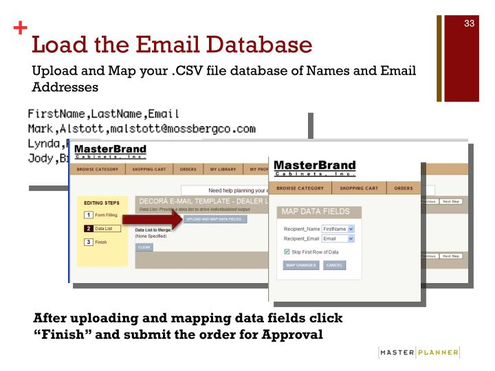 Load the Email Database