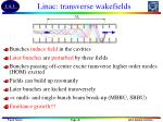 linac transverse wakefields