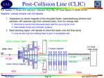 post collision line clic