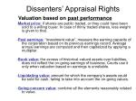 dissenters appraisal rights7