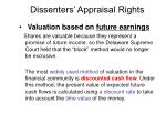 dissenters appraisal rights9