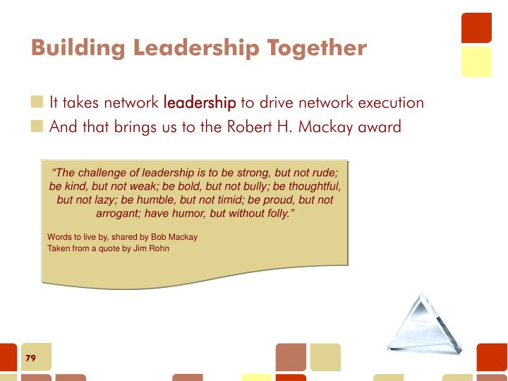 Building Leadership Together