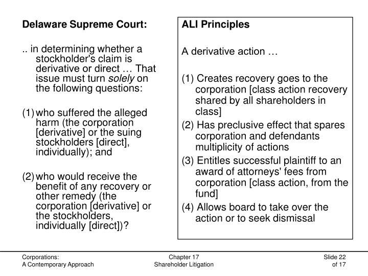 Delaware Supreme Court: