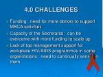 4 0 challenges
