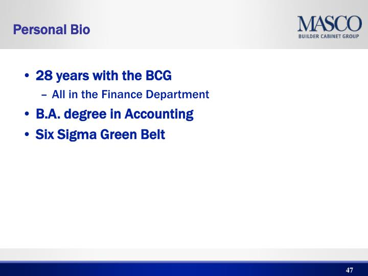 28 years with the BCG