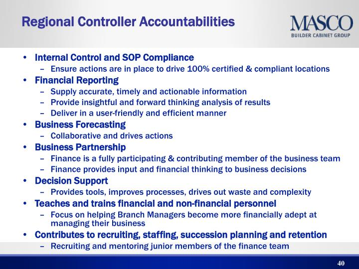 Internal Control and SOP Compliance