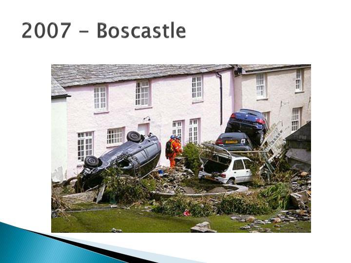 2007 - Boscastle