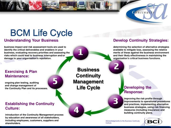 Bcm life cycle