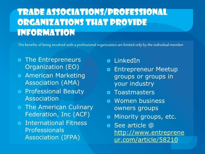 The Entrepreneurs Organization (EO)