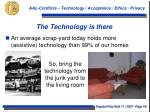 the technology is there1