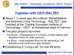 together with ceit raltec