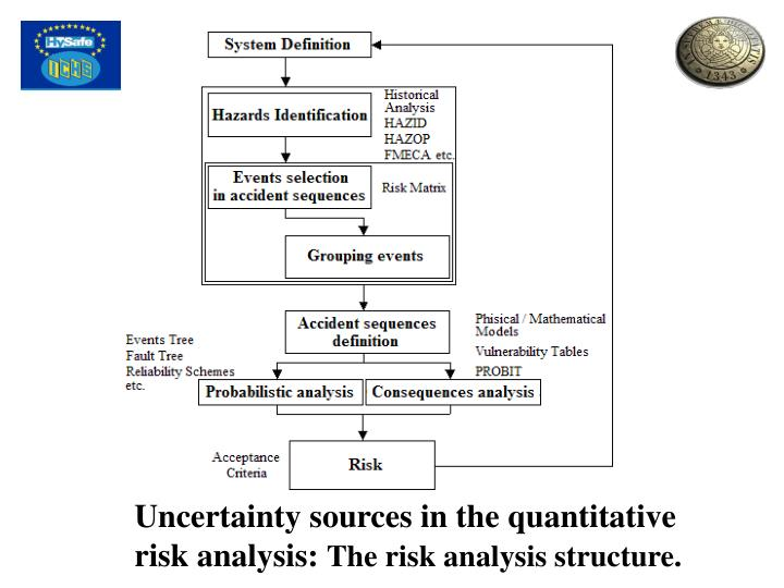 Uncertainty sources in the quantitative