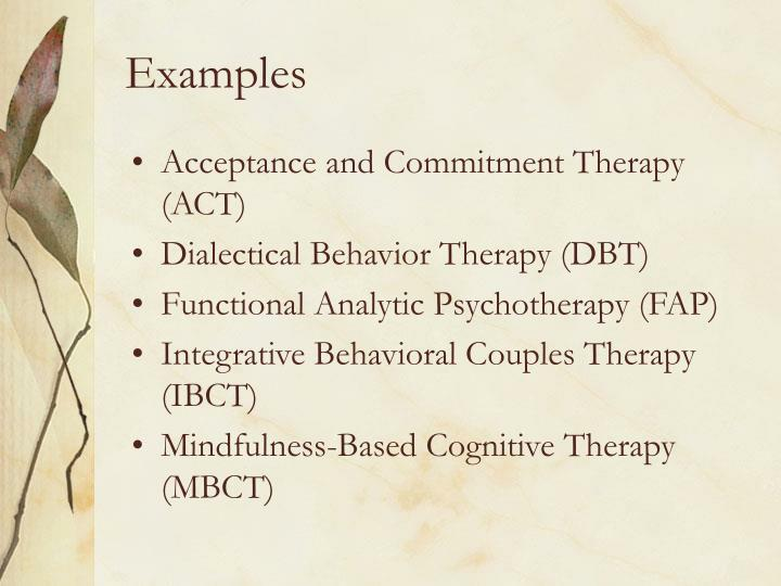 acceptance and commitment therapy act pdf
