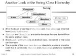 another look at the swing class hierarchy