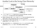 another look at the swing class hierarchy1
