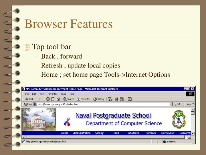 Browser Features