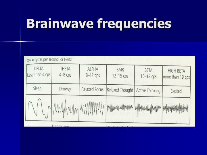 Brainwave frequencies
